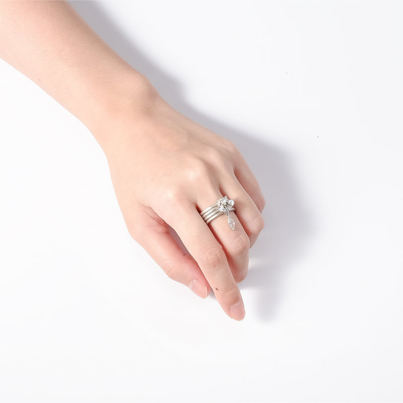 Allure Multi Layer Ring