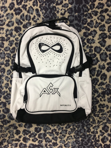 ACX White Nfinity Luxe Radiance Backpack