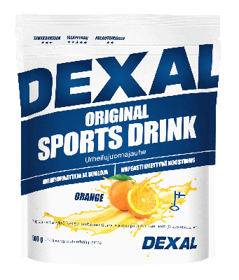 DEXAL ORIGINAL SPORTS DRINK ORANGE URHEILUJUOMAJAUHE 500 G