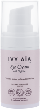 IVY AIA EYE CREAM WITH VITAMIN E SILMÄNYMPÄRYSVOIDE 15 ML