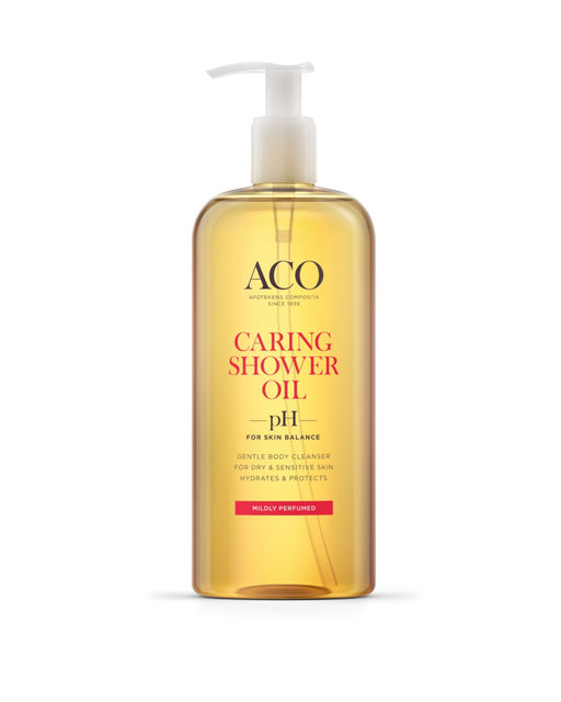 ACO BODY CARING SHOWER OIL SUIHKUÖLJY HAJUSTETTU 400 ML