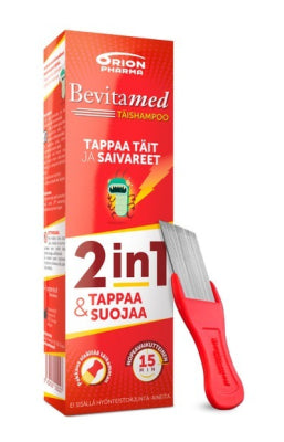 BEVITAMED TÄISHAMPOO 100 ML