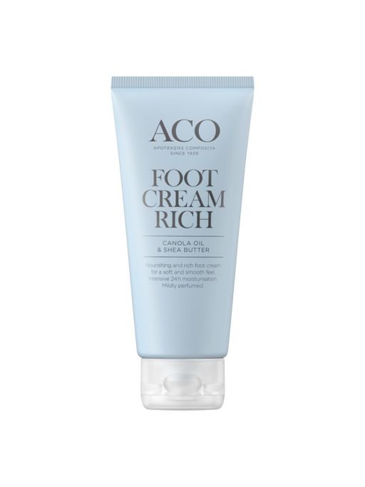ACO BODY FOOT CREAM RICH JALKAVOIDE HAJUSTETTU 100 ML