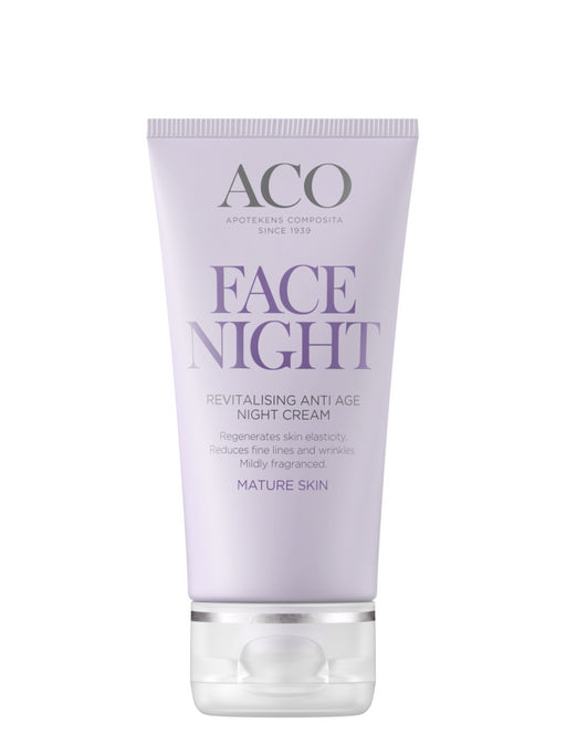 ACO FACE ANTI AGE REVITALISING NIGHT CREAM YÖVOIDE 50 ML