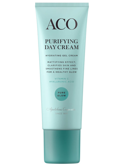 ACO PURE GLOW PURIFYING DAY CREAM GEELIVOIDE 50 ML