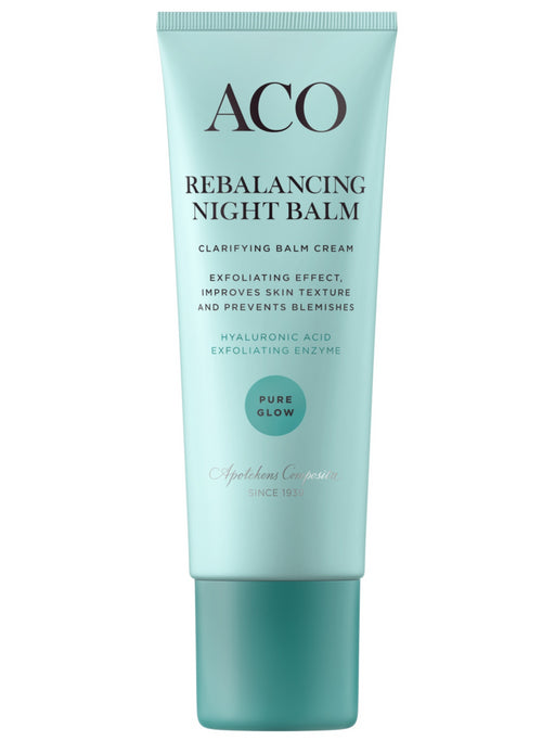 ACO PURE GLOW REBALANCING NIGHT YÖVOIDE 50 ML
