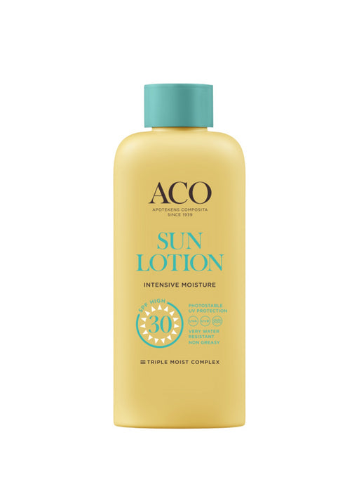 ACO SUN BODY LOTION SPF 30 FAMILY SIZE AURINKOVOIDE HAJUSTEETON 300 ML