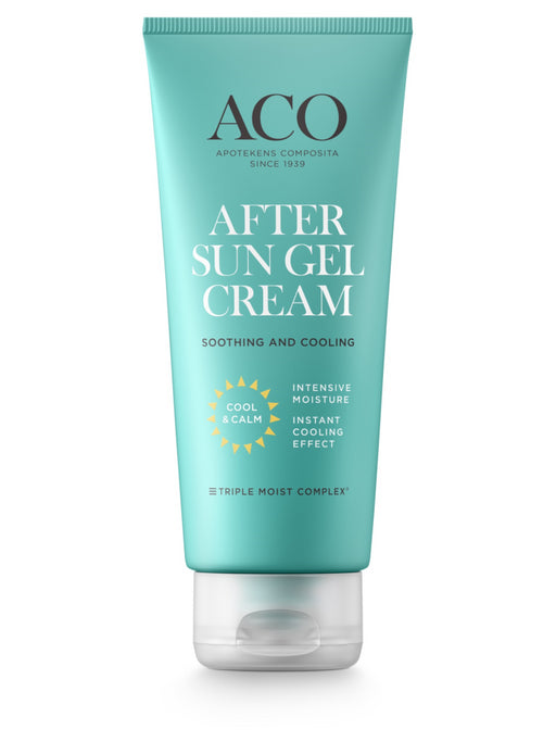 ACO AFTER SUN GEL CREAM VIILENTÄVÄ GEELIVOIDE 200 ML