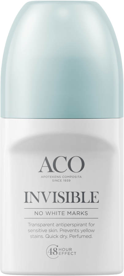 ACO BODY DEO INVISIBLE ANTIPERSPIRANTTI HAJUSTETTU 50 ML
