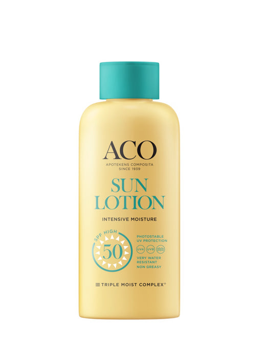 ACO SUN BODY LOTION SPF 50 AURINKOVOIDE HAJUSTEETON 200 ML
