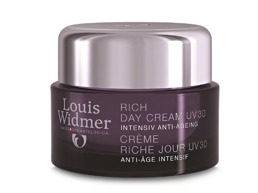 LOUIS WIDMER RICH DAY CREAM UV 30 ANTI-AGE-PÄIVÄVOIDE, HAJUSTETTU 50 ML