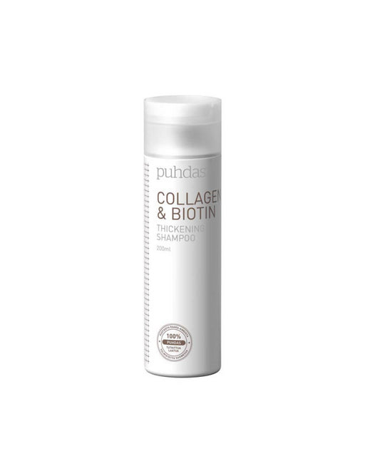 PUHDAS+ COLLAGEN & BIOTIN SHAMPOO 200 ML