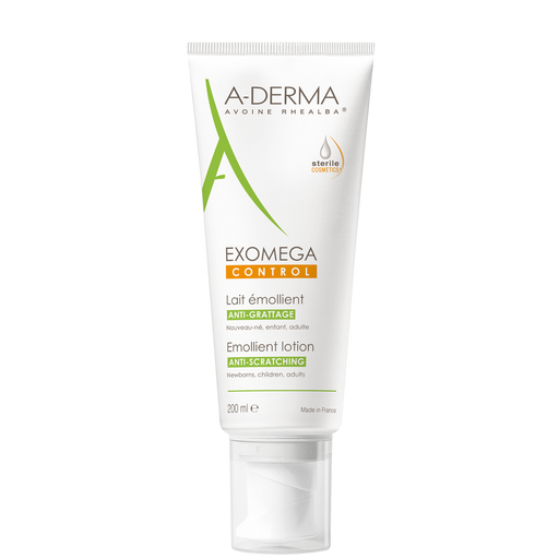 A-DERMA EXOMEGA CONTROL LOTION EMULSIOVOIDE KUIVALLE IHOLLE  200 ML