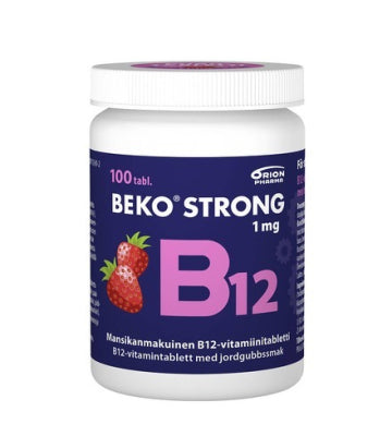 BEKO STRONG B12 1MG 100 PURUTABLETTIA