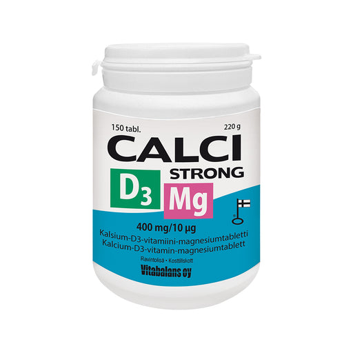 CALCI STRONG +D3 +MG 150 TABLETTIA