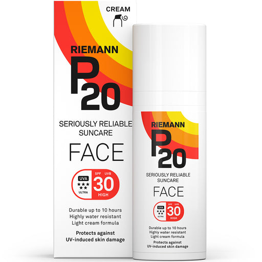 P20 SPF30 LOTION AURINKOSUOJA KASVOILLE 50 ML