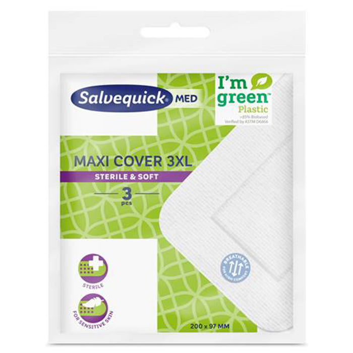 SALVEQUICK MAXI COVER 3XL 3 KPL