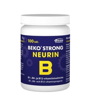 BEKO STRONG NEURIN 150/25/40 MG 100 TABLETTIA