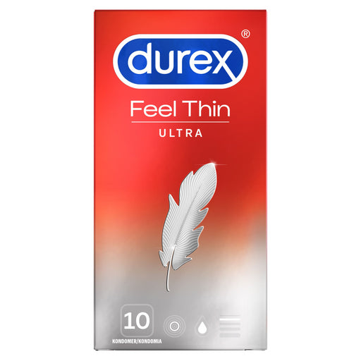 DUREX FEEL ULTRA THIN KONDOMI 10 KPL