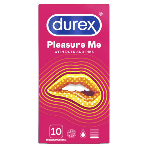 DUREX PLEASURE ME KONDOMI 10 KPL