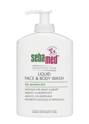 SEBAMED LIQUID FACE&BODY WASH PESUNESTE 300 ML