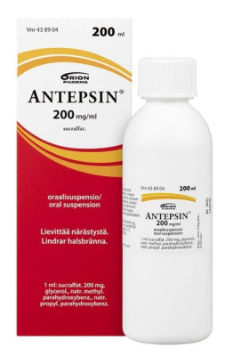 ANTEPSIN 200 mg/ml oraalisuspensio 200 ml