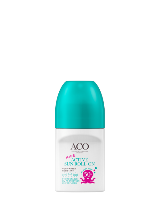 ACO SUN KIDS ACTIVE ROLL-ON HAJUSTEETON 50 ML