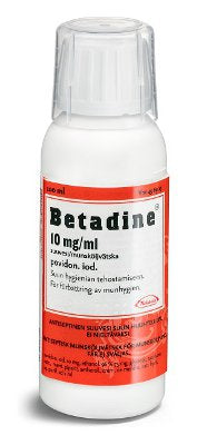 BETADINE 10 mg/ml suuvesi 100 ml