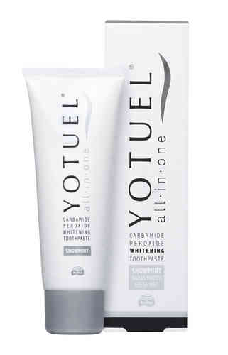 YOTUEL ALL-IN-ONE SNOWMINT VALKAISEVA HAMMASTAHNA 75 ML
