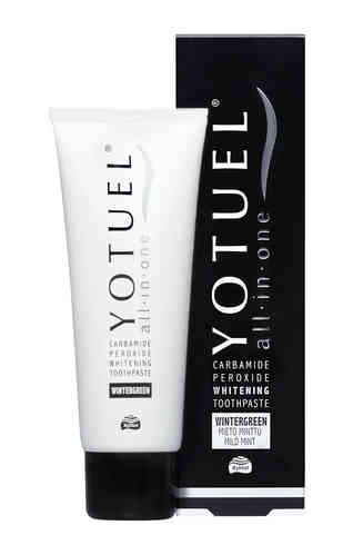 YOTUEL ALL-IN-ONE WINTERGREEN VALKAISEVA HAMMASTAHNA 75 ML
