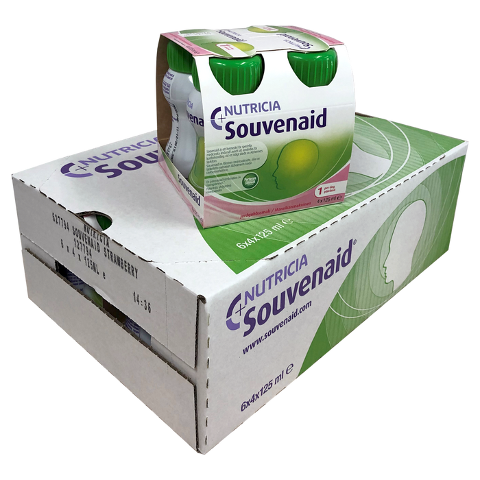 SOUVENAID MANSIKKA 24x125 ml