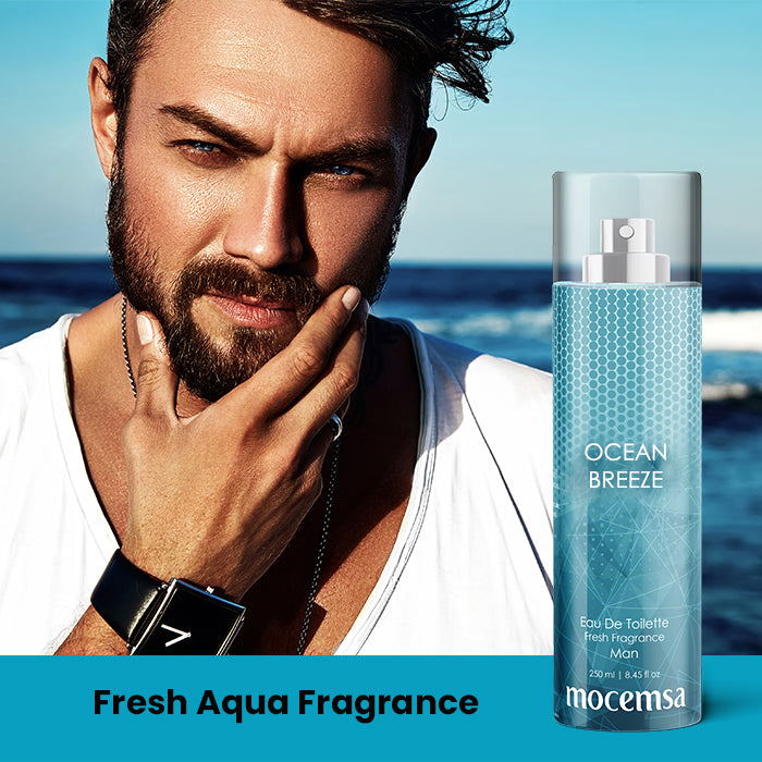 Ocean Breeze EDT For Men - Fresh Aqua Fragrance