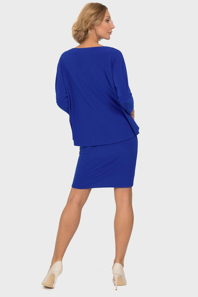 Joseph Ribkoff - Royal Layered Dress
