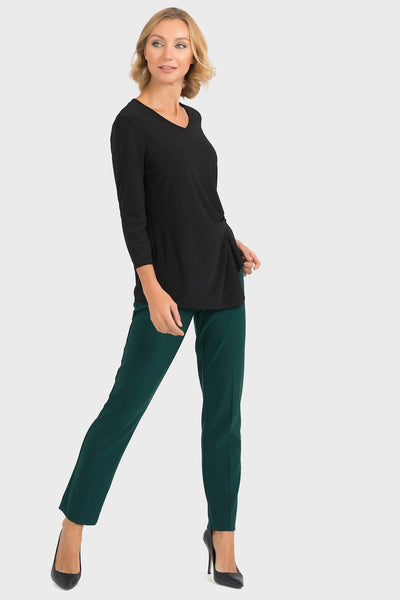 Joseph Ribkoff - V Neck Twist Top