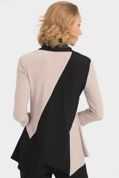 Joseph Ribkoff - Cowl Neck Colour Block Tunic