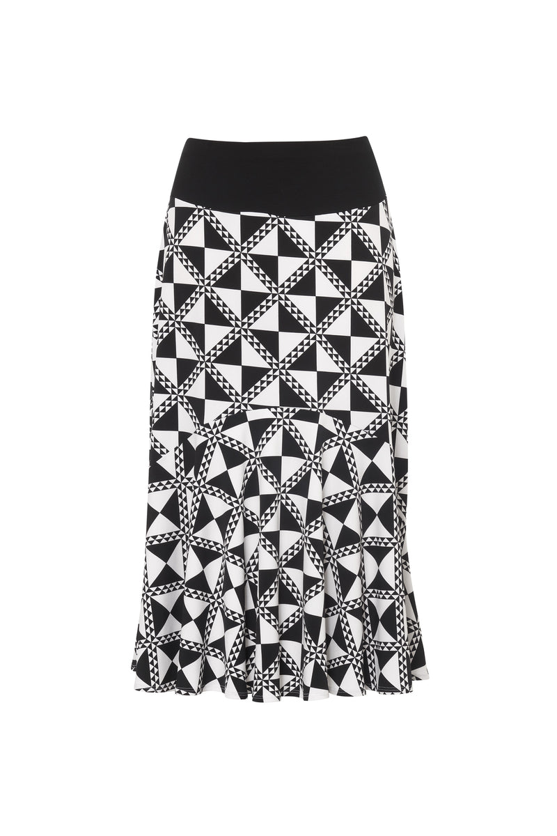 Paula Ryan - Paris Check Basque Skirt