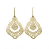 Nicole Fendel Jewellery - Althea Statement Earring in Soft Gold