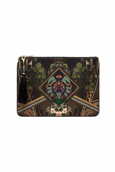 Camilla - Botanical Chronicles Small Canvas Clutch