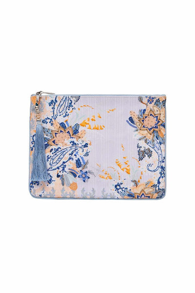 Camilla - Fraser Fantasia Small Canvas Clutch