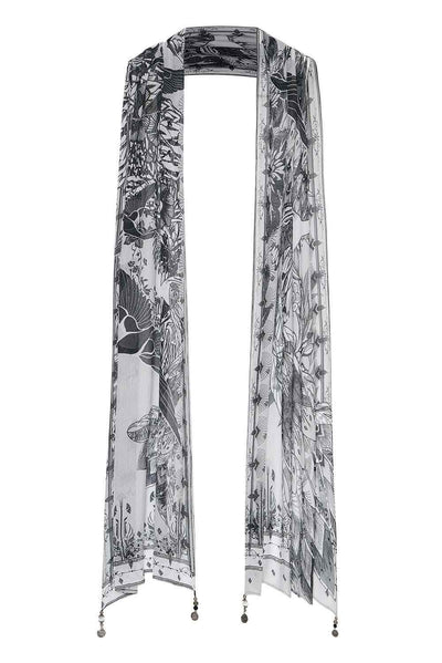 Camilla - Silver Linings Long Scarf