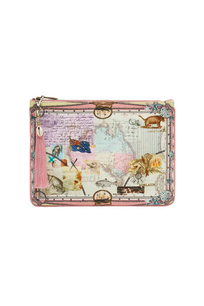 Camilla - Postcards From Them Small Canvas Clutch