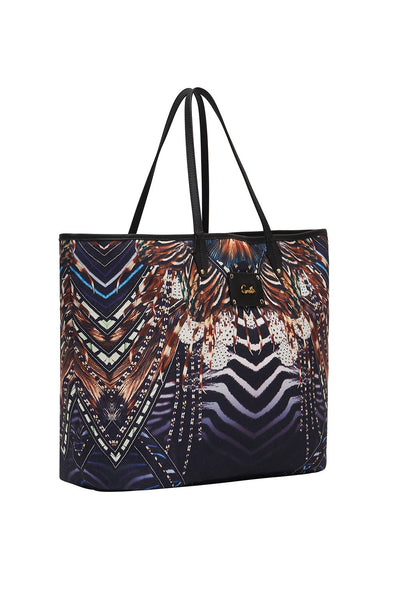 Camilla - Lost Paradise Coated Canvas Tote