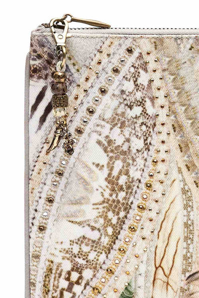 Camilla - Daintree Dreaming Small Canvas Clutch