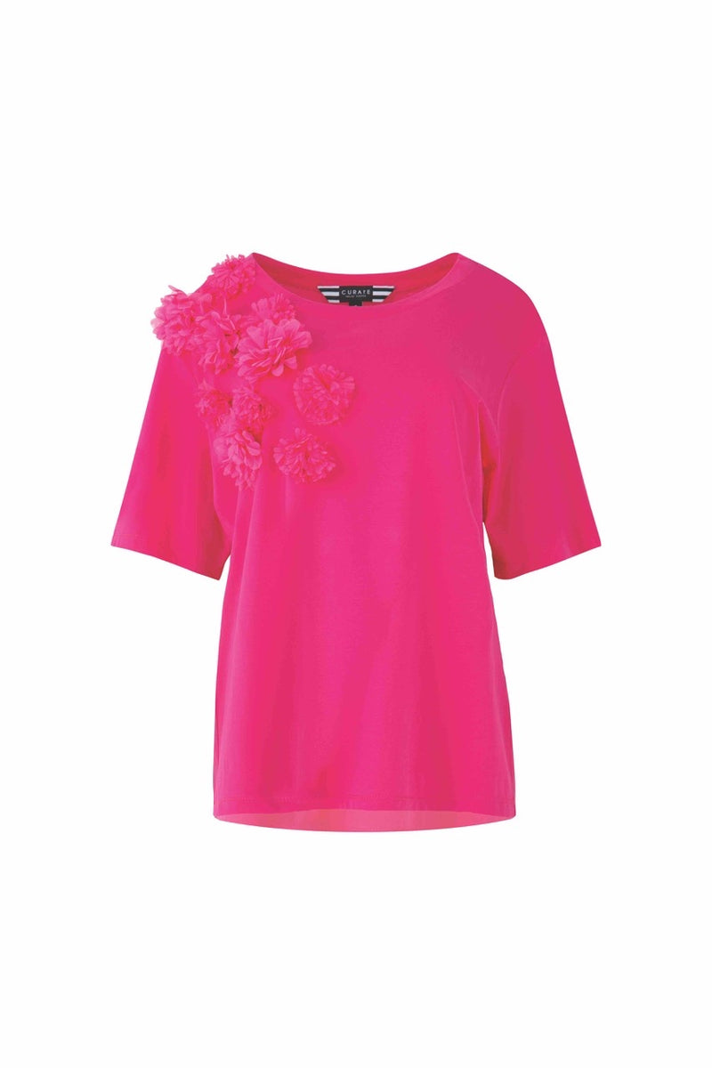 Curate - Kiss Kiss Top in Pink