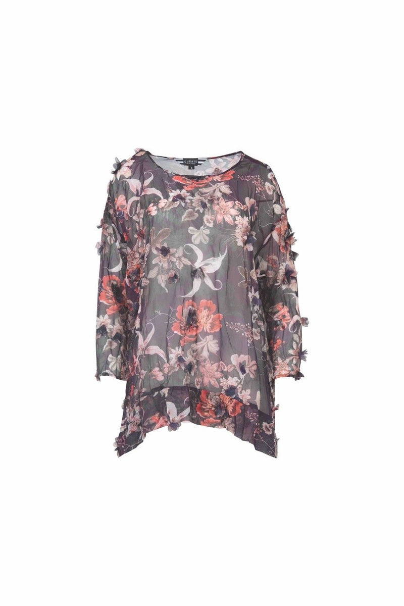 Curate - Lilac Mood Swing Top