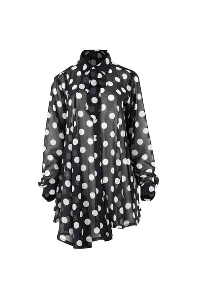 Curate_Trelise_Cooper_Collar_Back_Girl_Shirt_Spots_Blouse_Top_Black_White_www.zambezee.com.au