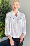 Mela_Purdie_Double_Zip_Shirt_Blouse_Top_Mache_White_www.zambezee.com.au