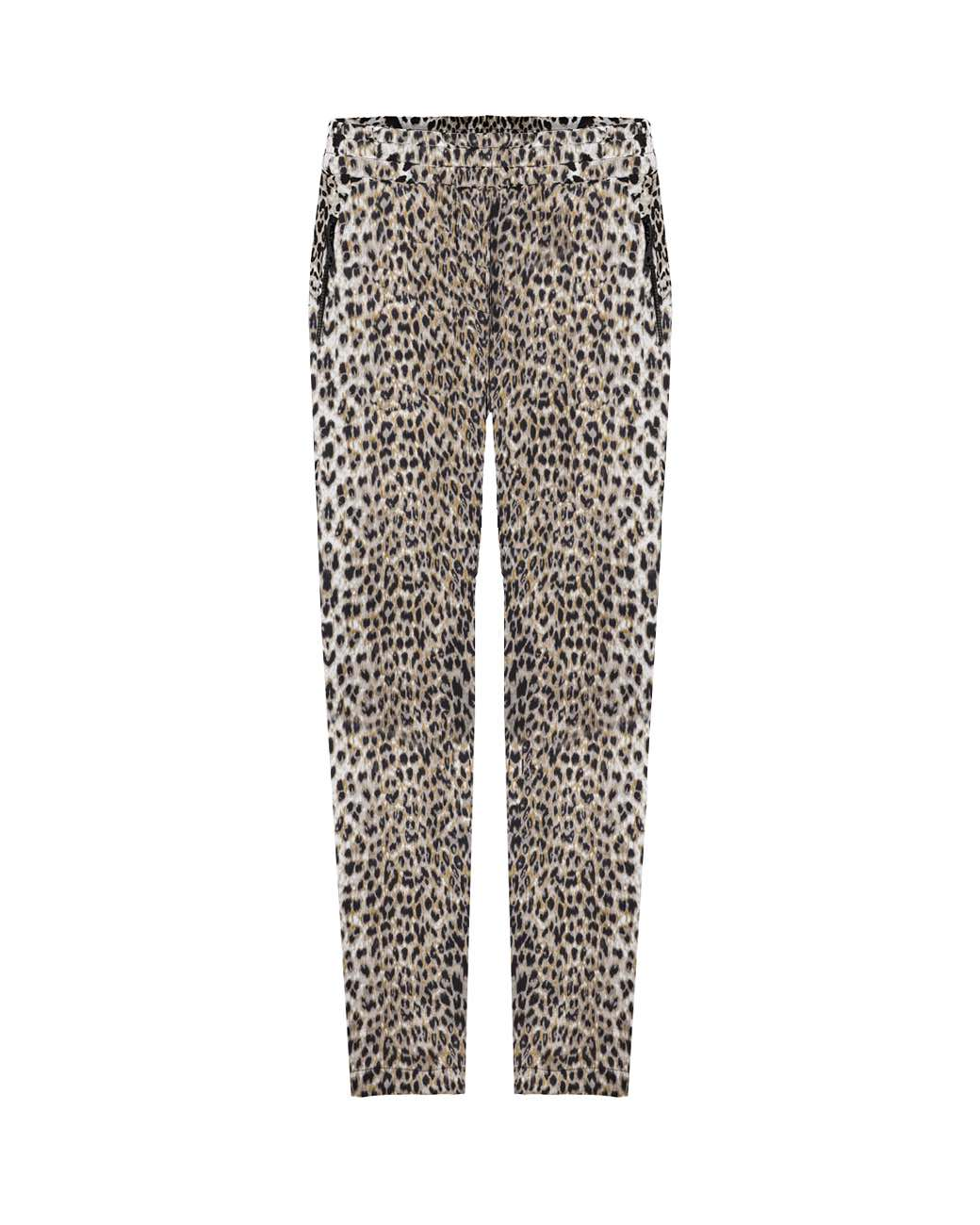 Mela Purdie - Soft Zip Pant in Snow Leopard