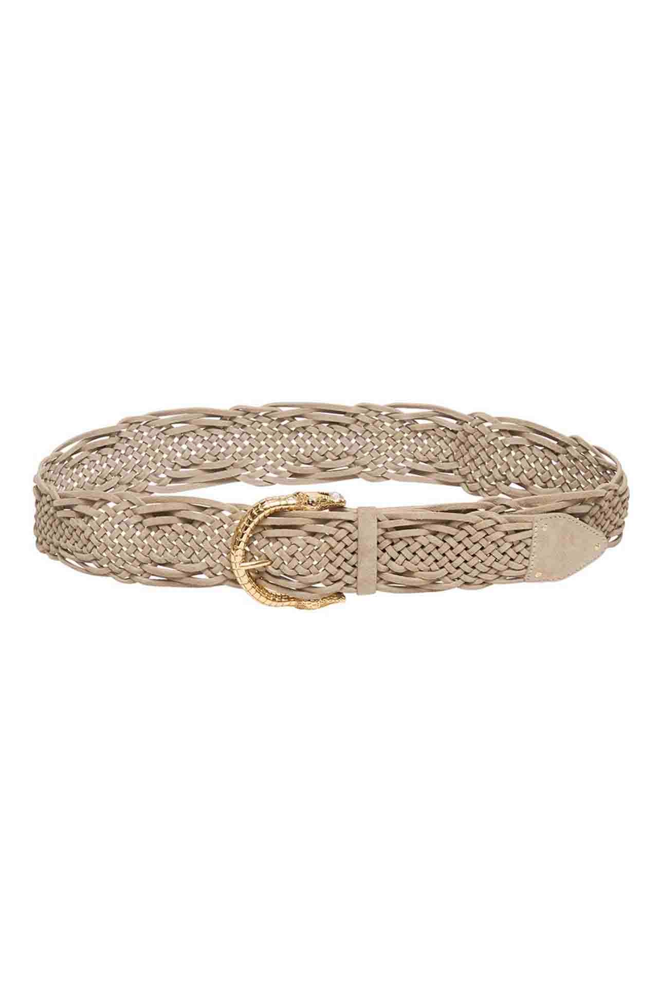 Camilla - Fair Verona Woven Leather Belt