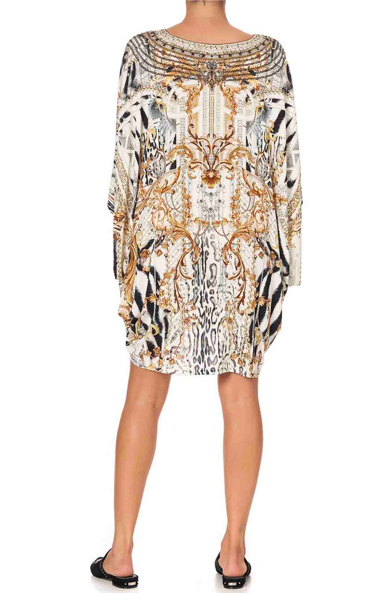 Camilla - Gates Of Glory Bat Sleeve Dress